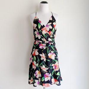 Francesca's LUSH Micaela Floral A-Line Dress NWT